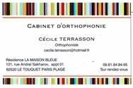 TERRASSON Cécile (orthophoniste)