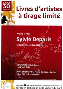 Exposition : Sylvie Deparis, Livres d'artistes à tirage limité