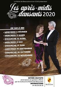 Les après-midi dansants 2020