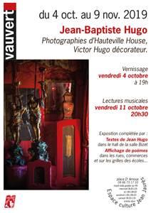 Exposition photographie d'Hauteville House : Victor Hugo décorateur