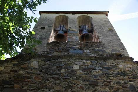 Eglise de Benqué Clocher