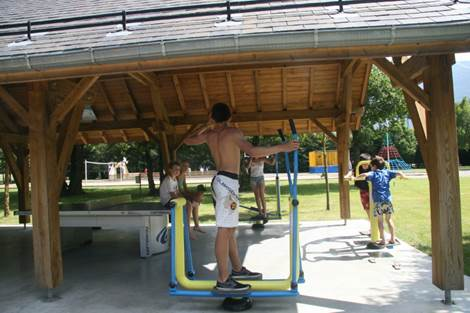 Camping Pradelongue Fitness