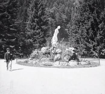 Statue de la Vallée du Lys