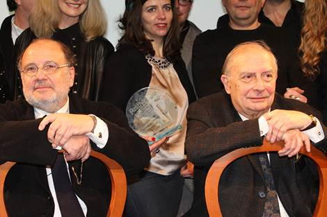 Serge Moati et Claude Chabrol