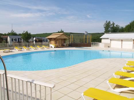 l'été Indien piscine