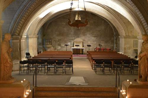 Crypte abbatiale St Gilles
