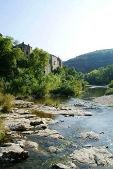 Montclus - La Cèze