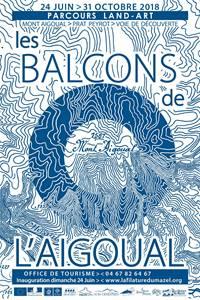 """Parcours de Land-Art """"Les balcons de l'Aigoual"""""""