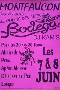 Week end Bodéga à Montfaucon