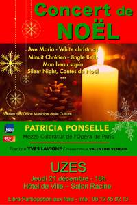 Concert de Noël avec Patricia Ponselle