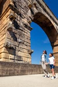 Les vacances de la Toussaint au Pont du Gard