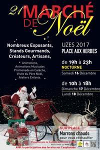 Marché de Noël - Uzès