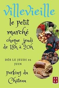 Le petit marché de Villevieille