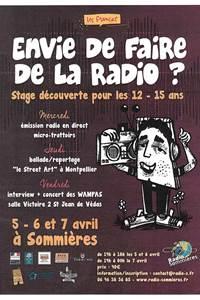 Stage découverte Envie de faire de la radio?