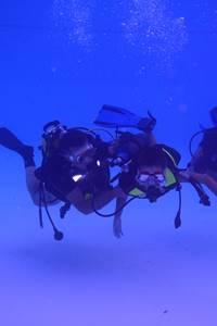 Plongée sous-marine en Piscine