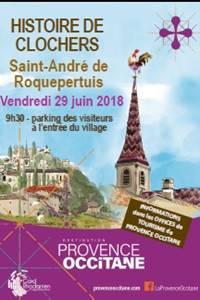 Histoire de Clochers à Saint-André-de-Roquepertuis