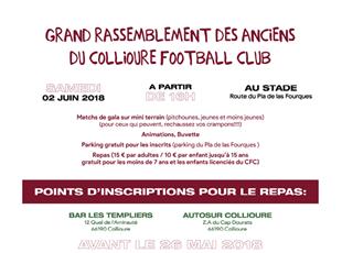 Rassemblement des anciens du Collioure Football Club