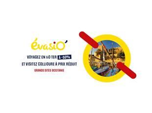 EvasiO'Culture Collioure offer - TER Occitanie