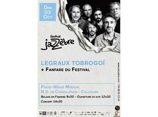 Jazzèbre - Musical picnic - Legraux Trobogoï