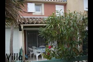 Petite villa+terrasse couverte+jardinet
