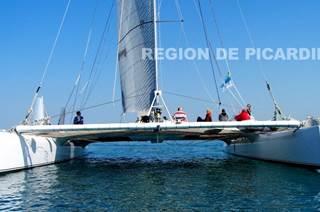 Région de Picardie Maxi catamaran