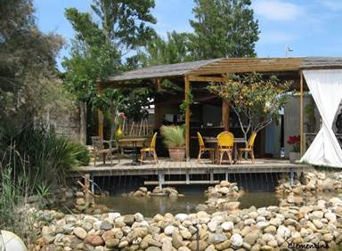 Restaurant La Sardine Port Leucate ile aux loisirs canoe