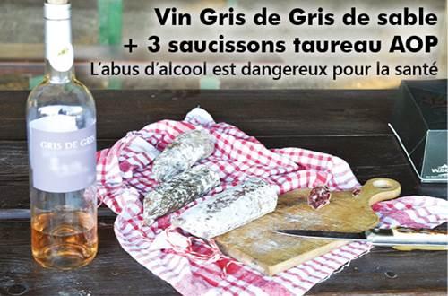 A chacune de mes excursions, halte gourmande avec au moins 6 spécialités et boissons camarguaises... ©