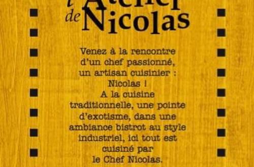 L'Atelier de Nicolas ©