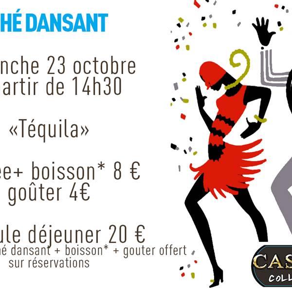 Thé Dansant au Casino de Collioure Dimanche 23 octobre