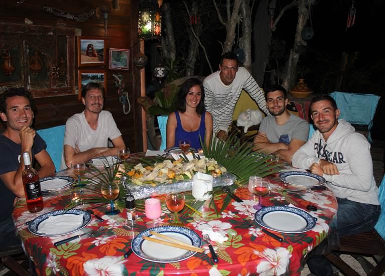 table d'hôtes, carrefour des voyageurs et saveurs du monde