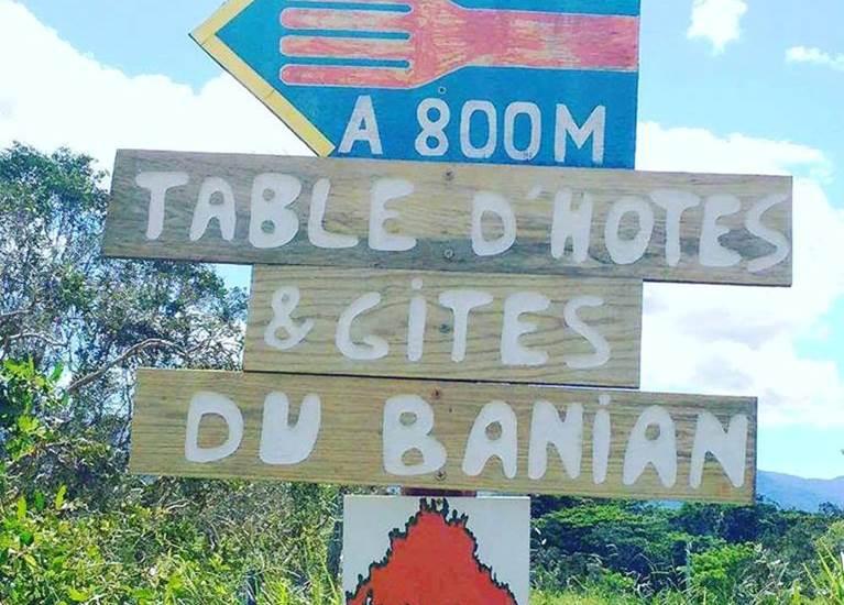 La Table du Banian