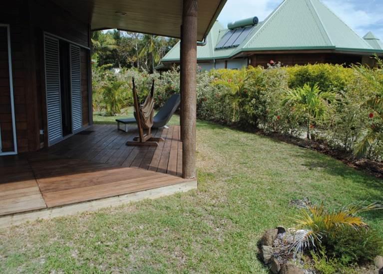 Terrasse et jardin privatif