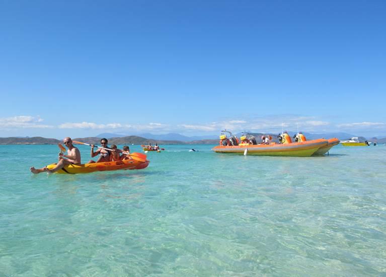 Kayak Ilôt Tenia