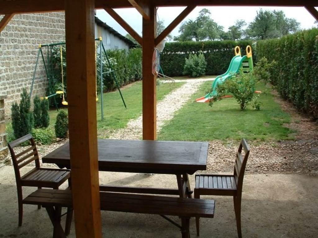 Jardin - Gîte - PONSIN Luc - La Maison d'Aline - MS001